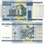 Schone Banknote Weißrussland Pick Nummer 28 - 1000 Rouble