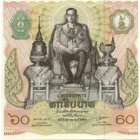 Billets de collection Billets banque Thailande Pk N° 93 - 60 Baht Billets de Thailande 9,00 €