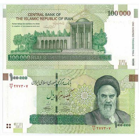 Billets de collection Billet de collection Iran Pk N° 151 - 100000 Rials Billets d'Iran 22,00 €