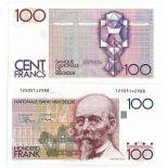 Bello banconote Belgio Pick numero 140 - 100 FRANC 1978