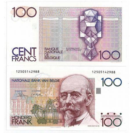 Belgique - Pk N° 140 - Billet de 100 Francs