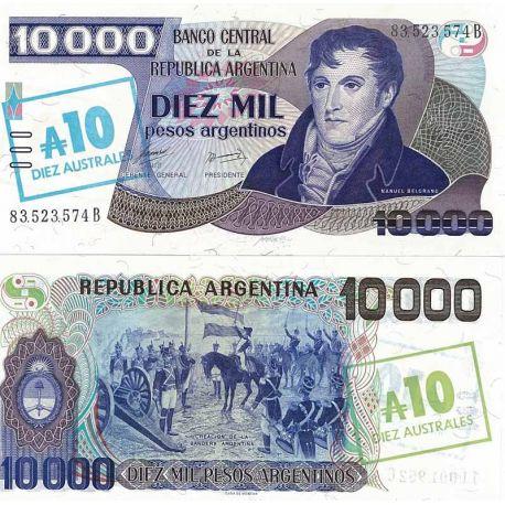 Argentine - Pk N° 322 - Billet de 10 Pesos