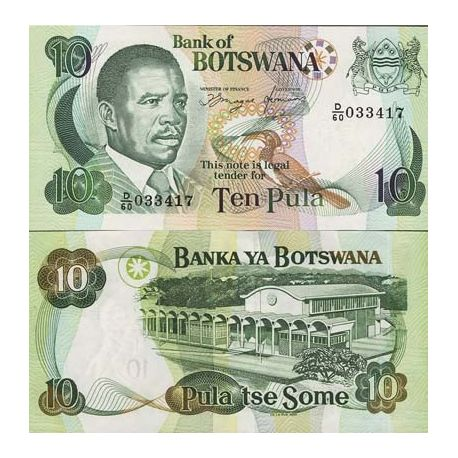 Billet de collection Botswana Pk N° 11 - 5 Pula