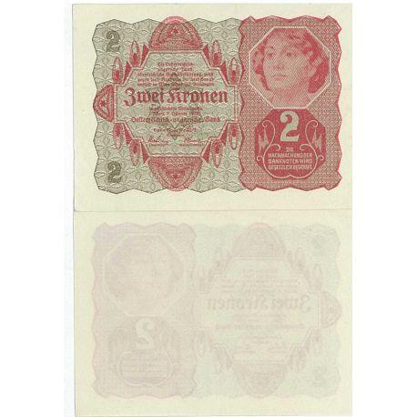 Autriche - Pk N° 74 - Billet de 2 Kronen