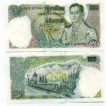 Billet de banque Thailande Pk N° 84 - 20 Baht