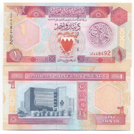 Bahrain - Pk N° 13 - Billet de 1 Dinar