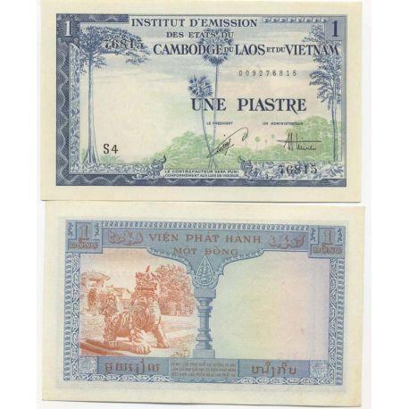 Billets de banque Indochine Pk N° 105 - 1 Piastre
