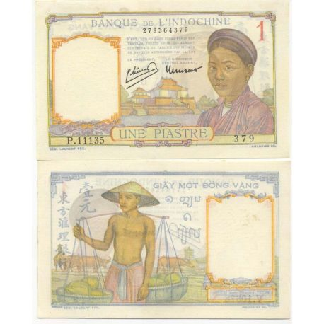 Indochine - Pk N° 54 - Billet de 1 Piastre
