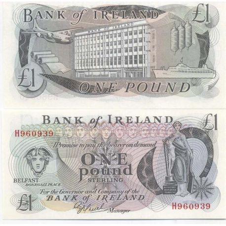 Billet de banque Irlande Pk N° 61 - 1 Pound