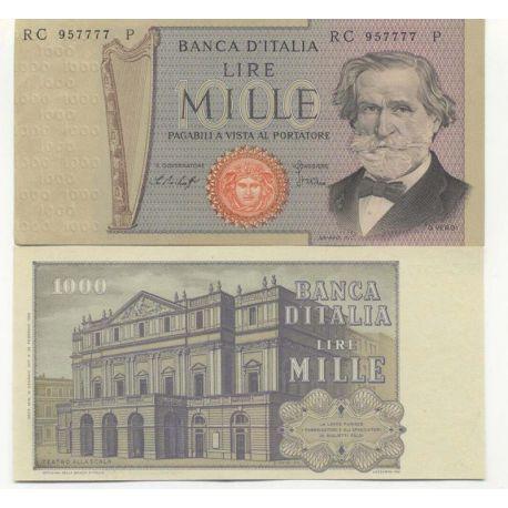Billets banque Italie Pk N° 101 - 1000 Lire