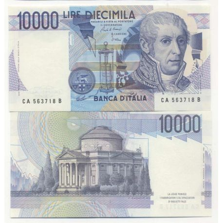 Billet de collection Italie Pk N° 112 - 10000 Lire