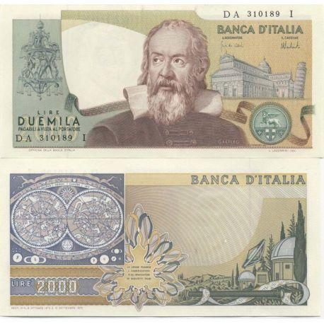 Billets de collection Billets de banque Italie Pk N° 103 - 2000 Lire Billets d'Italie 45,00 €