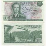Billet de collection Luxembourg Pk N° 53 - 10 Francs
