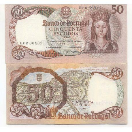 Portugal - Pk N° 168 - Billet de 50 Escudos