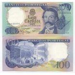 Banknoten Bank Portugal Pk Nr. 169 - 100 Escudos