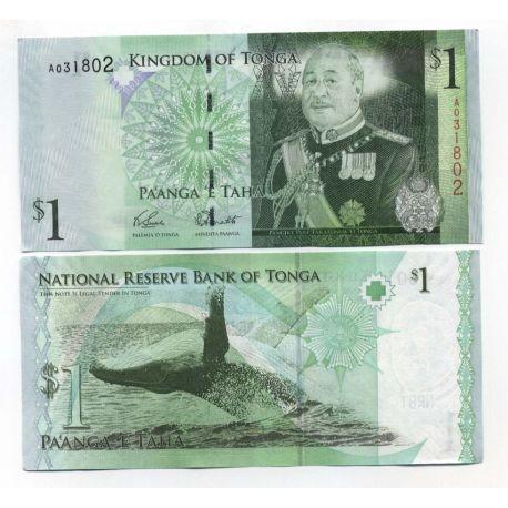 Billets de collection Billets banque Tonga Pk N° 37 - 1 Pa'anga Billets du Tonga 4,00 €