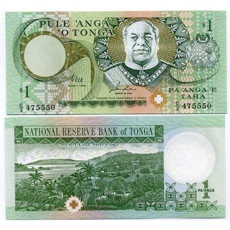 Billets de collection Tonga - Pk N° 31 - Billet de banque de 1 Pa'anga Billets du Tonga 5,00 €