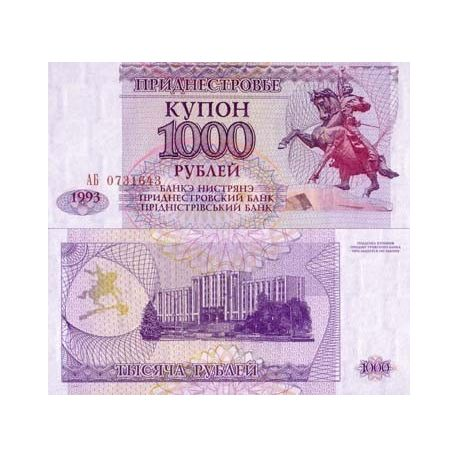 Billets de banque Trans-Denestria Pk N° 23 - 1000 Rublei
