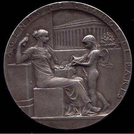Médaille : Agents de change de Paris - SUP