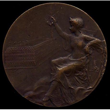 Médaille : Déesse assise - SUP