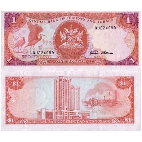Trinidad & Tobago - Pk No. 36 - 1 ticket Dollars