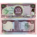 Banknoten Trinidad - Tobago Pick Nummer 44 - 20 Dollar