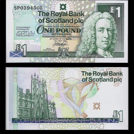 Ecosse : Billet de 1 Livre - Royal Bank PK 360 - NEUF