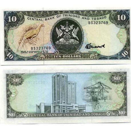 Trinite & Tobago - Pk N° 38 - Billet de 10 Dollars