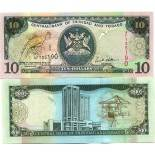 Collection of Banknote Trinidad & Tobago Pick number 43 - 10 Dollar