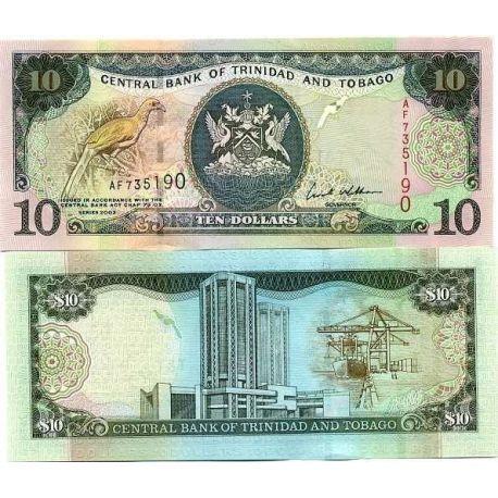 Trinidad & Tobago - Pk No. 43 - Ticket 10 Dollars