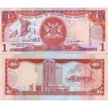 Collection of Banknote Trinidad & Tobago Pick number 46 - 1 Dollar