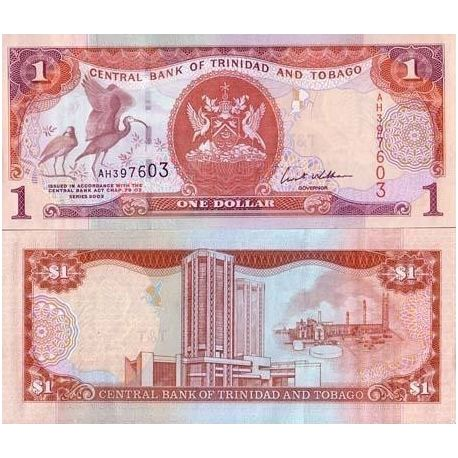 Trinite & Tobago - Pk N° 999 - Billet de 1 Dollars