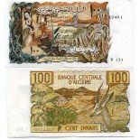 Banconote Algeria Pick numero 128 - 100 Dinar 1964