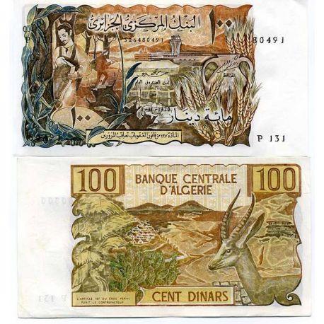 Billets de collection Billets banque Algerie Pk N° 128 - 100 Dinars Billets d'Algerie 52,00 €