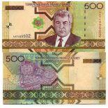 Billet de banque Turkmenistan Pk N° 19 - 500 Manats