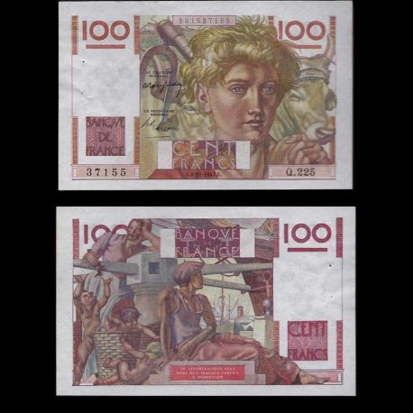France : Billet de 100 Francs - Paysan - SPL