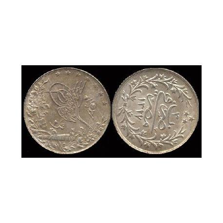 Piéce Egypte : Empire Ottoman - 2 Qirsh 1910