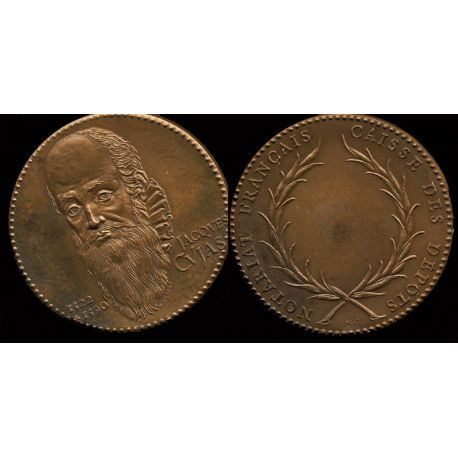 Médaille bronze : Notariat - Jacques Cujas