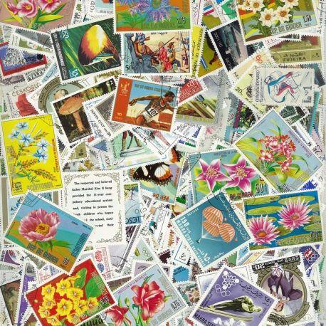 Tous Pays Grand Format - Lots de 200 timbres différents