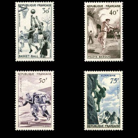 Timbres France Série N° 1072/1075 neuf sans charnière
