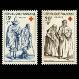 Stamps series of France N° 1140/1141 Mint NH