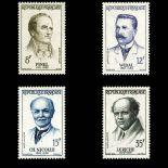 Briefmarken Reihe von France N ° 1142/1145 Postfrisch