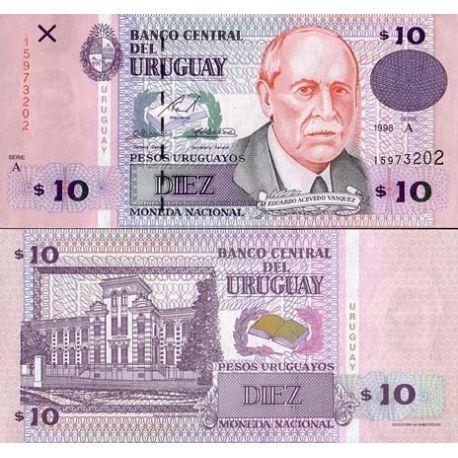 Uruguay - Pk: # 81 - 10 ticket N.Pesos