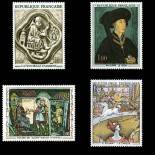 Stamps series of France N° 1586/1588A Mint NH