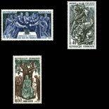 Timbres France Série N° 1537/39 neuf sans charnière