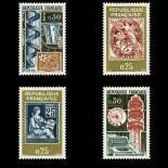 Timbres France Série N° 1414/17 neuf sans charnière