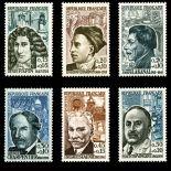 Briefmarken Reihe von France N ° 1345/1350 Postfrisch