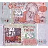 Collection of Banknote Uruguay Pick number 80 - 5 Peso