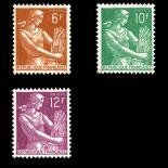 Briefmarken Reihe von France N ° 1115/1116 Postfrisch