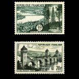 Timbres France Série N° 1118/1119 neuf sans charnière